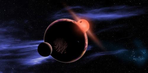 Red Dwarf Earthlike Planet