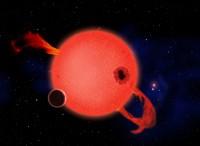 Red Dwarf Planet Transit