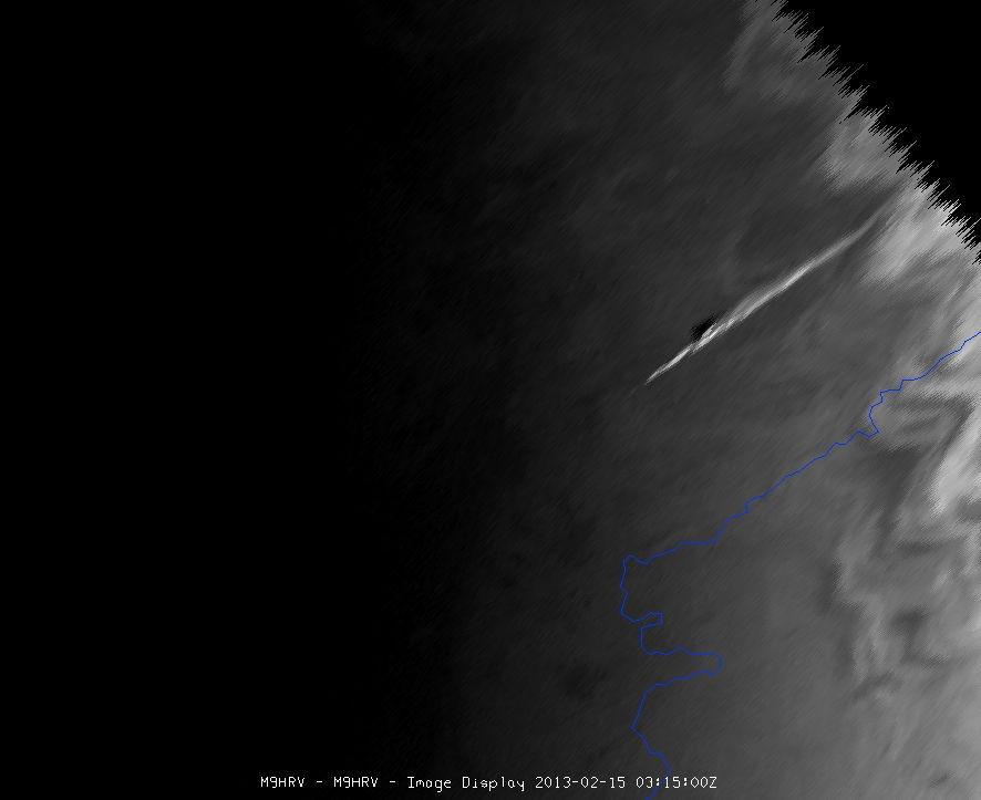 Video: explosie russische meteoriet ook vanuit de ruimte waargenomen