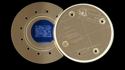 The golden discs Paglen made