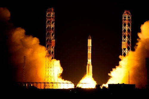 Launch of the Echostar XVI satellite