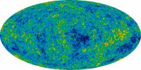 WMAP-beeld van de kosmische achtergrondstraling