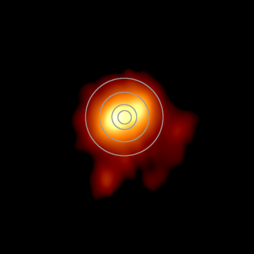 Betelgeuze plus Zonnestelsel