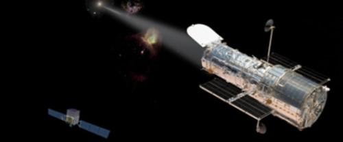 Hubble blazar
