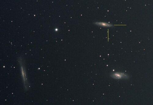 M65 supernova JH