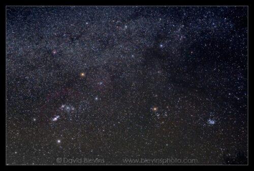 Orion en Stier