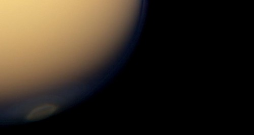 Titan South Polar Vortex