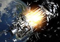 Botsingen in de ruimte zorgen voor veel gevaarlijk ruimteafval