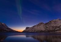 Komeet PANSTARRS + Noorderlicht + Fjord bij Tromsø = grandioos!