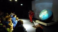 Spaceship Earth Science Show bij NEMO