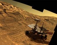Opportunity heeft tot nu toe 35,76 km afgelegd, een record voor de NASA