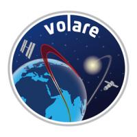 Het logo van de Volare missie