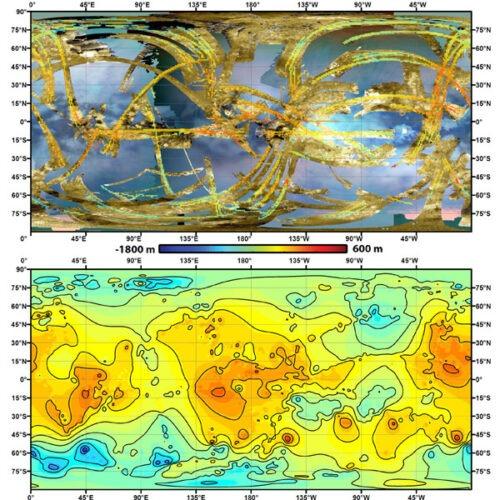 Titan topography