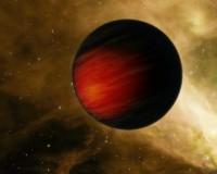 Impressie van een hete Jupiter, exoplaneet HD 149026b
