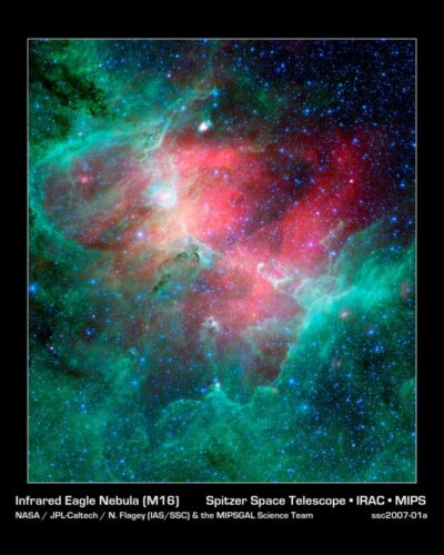 BB nucleo 15 Infrared Eagle Nebula