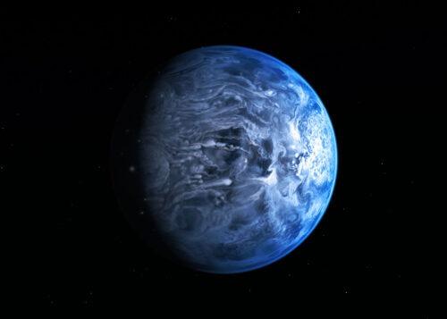 HD 189733b diep blauw