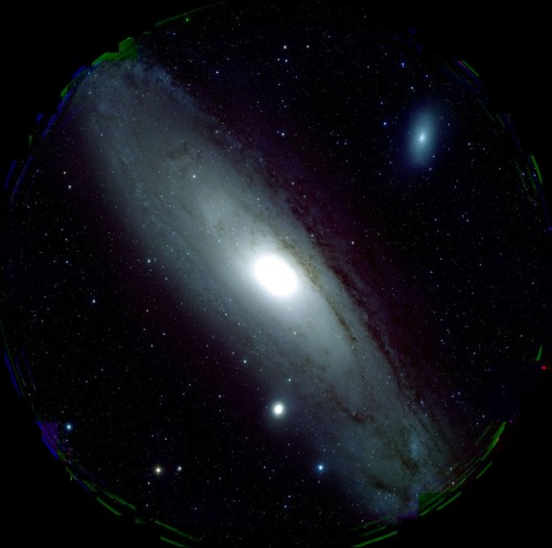 M31 captured by HSC
