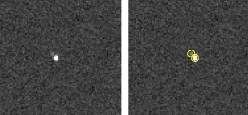 New Horizons, Pluto en Charon
