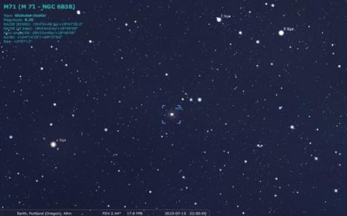 M71 5 locatie