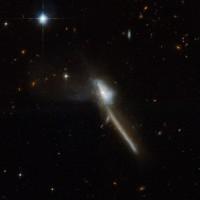 Bizar sterrenstelsel levert nieuwe inzichten in actieve zwarte gaten