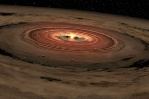 Protostar with disk