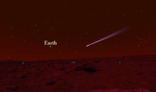 Voorstelling van de passage (credit: Starry Night/Stuart Atkinson)