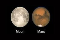 De 'Mars-zo-groot-als-de-Maan-fabel' dook weer eens op