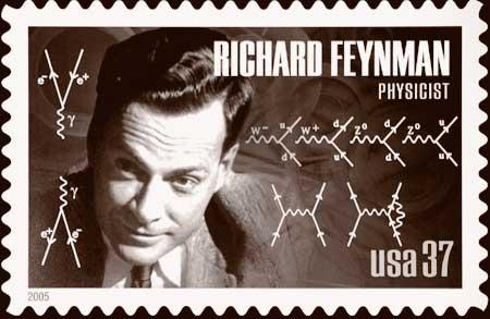 Feyman-stamp