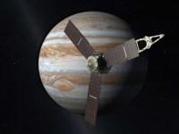 Juno is op slechts 4200 km afstand langs Jupiter gevlogen