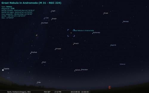 M31 3 locatie