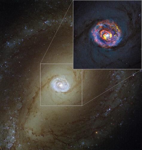 NGC 1433 geheel