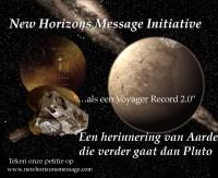 Allemaal de New Horizons petitie tekenen