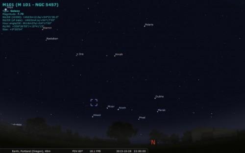 M101 3 locatie