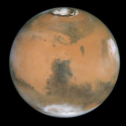 Mars Verhaal 04 poolkappen Hubble