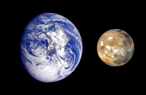Mars Verhaal 10 aarde en mars