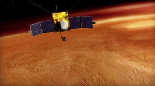 Mars Verhaal 13 MAVEN animatie
