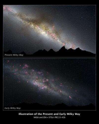 Melkweg_Hubble