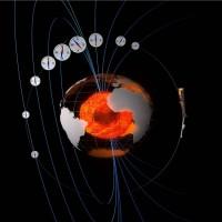 Het magnetisch veld rondom de aarde