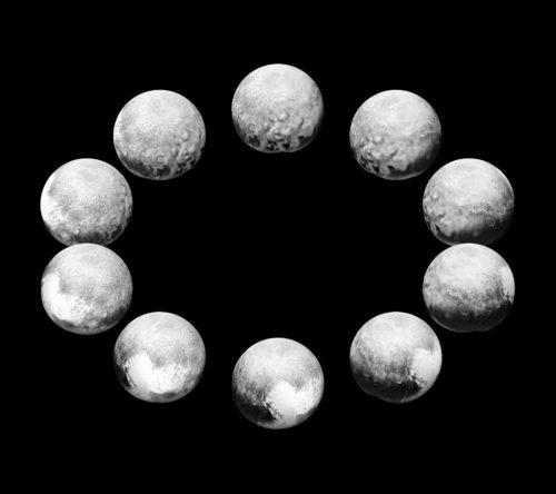 Een dag op Pluto in beeld gebracht.