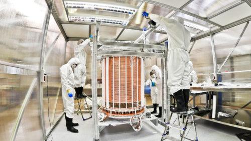 De grote XENON1T detector