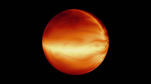 Voorstelling van de hete Jupiter HD 80606b