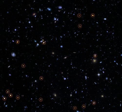 ALMA verkent het Hubble Ultra Deep Field