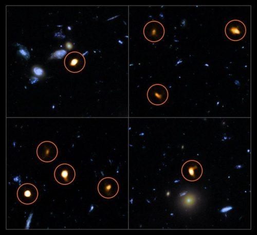 ALMA verkent het Hubble Ultra Deep Field