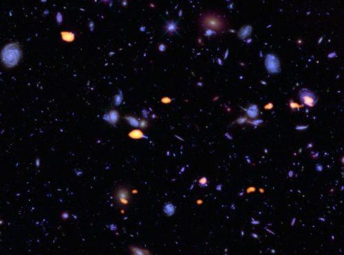 ALMA's diepe blik in een deel van het Hubble Ultra Deep Field