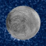 Hubble heeft mogelijk pluimen van waterdamp op Jupiter's maan Europa waargenomen