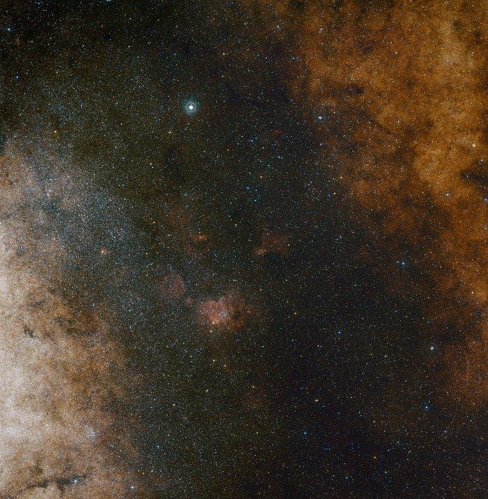 VISTA ontdekt het oude hart van de Melkweg