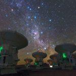 ALMA zoomt in op stervormingsgebieden buiten onze Melkweg