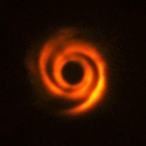 Schijf rond de ster HD135344B