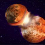 Maan mogelijk ontstaan door meerdere inslagen op Aarde – niet één grote inslag