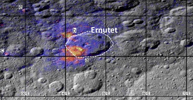 NASA's Dawn sonde heeft organisch materiaal gedetecteerd op dwergplaneet Ceres